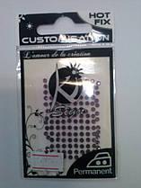 Стрази термозакріпляючі для тканин, Ki-sign (фіолетовий)