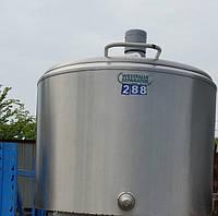 Охладитель молока откритого типа  фирмы Westfalia 300 л