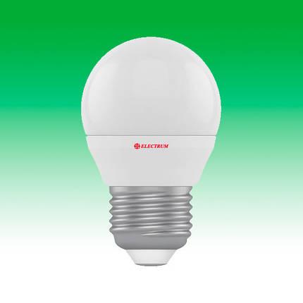 Светодиодная лампа LED 4W 4000K E27 ELECTRUM LB-4 (A-LB-0515), фото 2