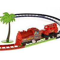 Пожежна залізниця з заводним механізмом Fire Resue NA NA IM59C