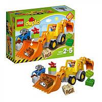 Lego Лего Duplo Экскаватор-погрузчик 10811