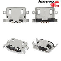 Коннектор зарядки для Lenovo S650 / S820, оригинал