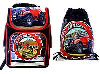 """Ранец школьный,и сумка для сменки """"Джип"""" Vombato, фото 1"""