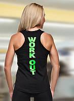 Спортивная майка WorkOut Green