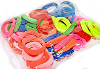 Резинки для волос цветные упаковка 50 шт