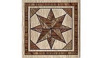 Декор для пола Интеркерама Массима 15х15,коричневый