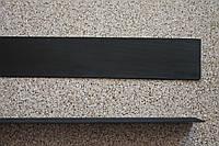 Полиуретановый рубец (косяк) для ремонта обуви 300*40 мм. (Украина), цвет - черный