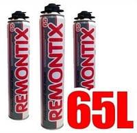 Пена  монтажная Remontix Pro 65 профессиональная  всесезонная 750мл