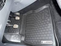 Коврики в салон Ford Focus II (05-) (полимерные) L.Locker Форд Фокус 2 седан