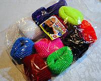Резинки для волос детские упаковка 12 шт