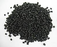 Вторичный полипропилен (ПП), черный, гранулы