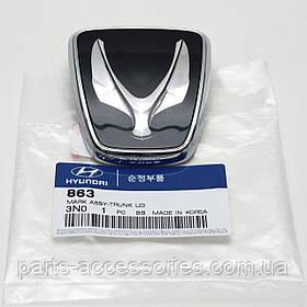 Значок эмблема на багажник Hyundai Eguus 2010-16 новая оригинальная