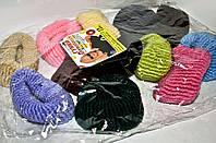 Резинки для волос модные упаковка 12 шт
