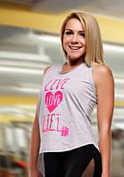 Спортивная майка Live Love Lift pink