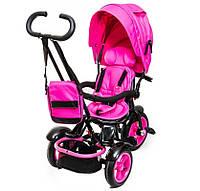 Детский Трехколесный велосипед модель 2016 г. Neo 4 Air с фарой розовый***
