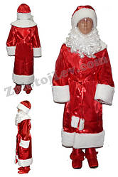 Костюм Деда Мороза для ребенка рост 128