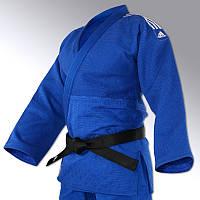 Кимоно для дзюдо Adidas Champion 2 (IJF) синее. 2015