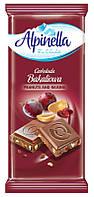 """Молочный шоколад Alpinella """"Bakaliowa"""" с орехами и изюмом, 100 г"""