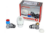 Комплект для подключения радиатора тройной 1/2 R470FX003 (угловой) Giacomini