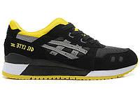 """Мужские Кроссовки Asics Gel Lyte III """"Yellow Black"""" - """"Желтые Черные"""" (Копия ААА+)"""