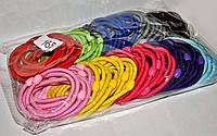 Резиночки для волос цветные упаковка 100 шт