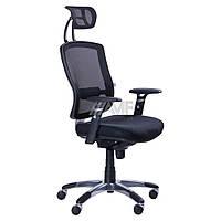 Кресло Коннект HR Сетка черная, фото 1