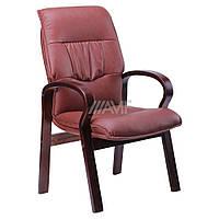 Кресло Лондон CF, кожзам коричневый (625-D Brown PU+PVC), фото 1