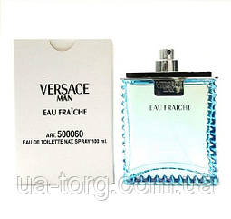 Мужская туалетная вода Versace Man Eau Fraiche, тестер