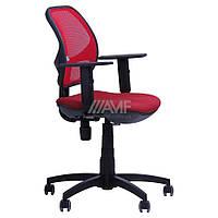 Кресло Квант/Action сиденье Квадро-28/спинка Сетка красная, фото 1