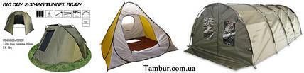 Второй дом рыбака-палатка.