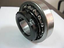 Самоустанавливающийся двухрядный шарикоподшипник с ЖЕЛЕЗНЫМ сепаратором 11208 (1209K+H209)