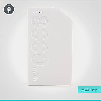 УМБ Remax Kang Platinum Power Bank 8000 mAh, фото 2