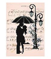 """Схема для вышивки бисером """"Романтик. Дождь"""""""