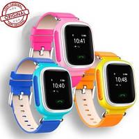 Детские телефон-часы Q60 c GPS, Wi-Fi и цветным экраном (оригинал)