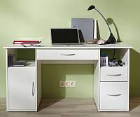 Письменный компьютерный стол из массива дерева 081