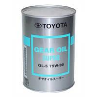 TOYOTA Gear Oil Super 75W-90 Трансмиссионное масло