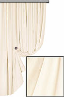 Ткань для пошива портьер Мультивельвет, кремовый