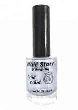 Лак для стемпинга Nail Story 11мл Серебро