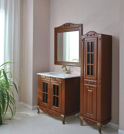 Комплект мебели Ольвия (Атолл) Верона 85 витрина столешница камень scuro, фото 2