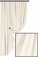 Ткань для пошива портьер Мультивельвет, молочный