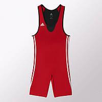 Борцовское трико Adidas Base WRESTLER (красный)