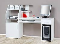 Письменный компьютерный стол из массива дерева 082