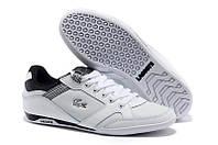 Кеды мужские Lacoste Basket White/Black