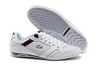 Кеды мужские Lacoste Basket White/Red