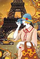 """Схема для вышивки бисером """"Путешествие в Париж"""""""