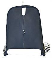 Рюкзак городской Лакоста темно-син, кожаный рюкзак, рюкзак кожзам, рюкзак женский, рюкзаки оптом, дропшиппинг