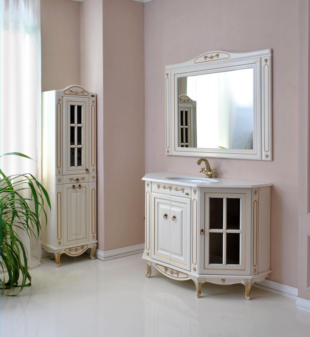 Комплект мебели Ольвия (Атолл) Верона 120 dorato (золото)