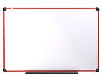 Дошка магнітно-маркерна в пластиковій рамі RED 90х120см