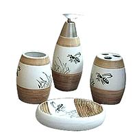 Набор аксессуаров для ванной комнаты 'Пчелка' 888-080