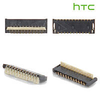 Коннектор дисплея для HTC T328w Desire V, оригинал